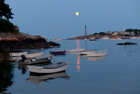 Super-Super Moon rising gently over Marblehead Harbor : P1030119