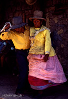 Couple dancing during Canaval in Ancash, Peru: PPgFR7_9