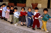 Children in Barcelona Kindergarden, Spain: SPC1_9